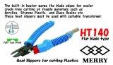 Heat Nippers (Flat blade type)